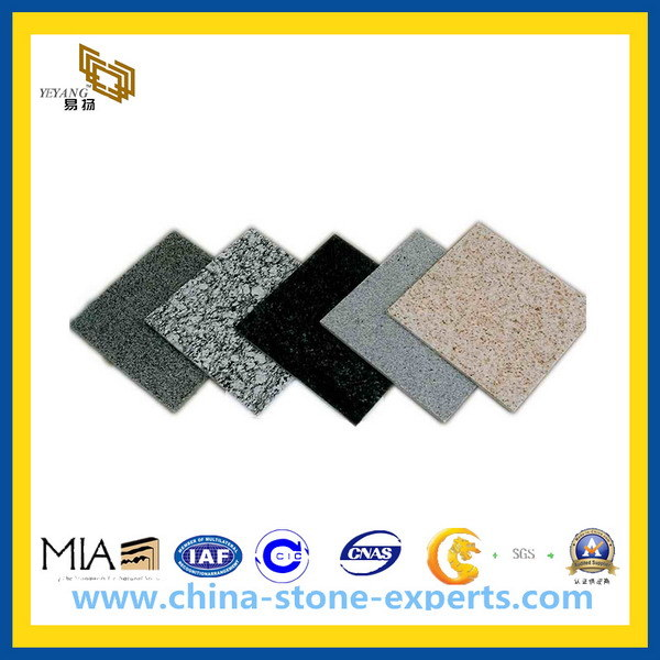 Natural Polished Granite Stone Tile for Walling Flooring (YY -GT001)
