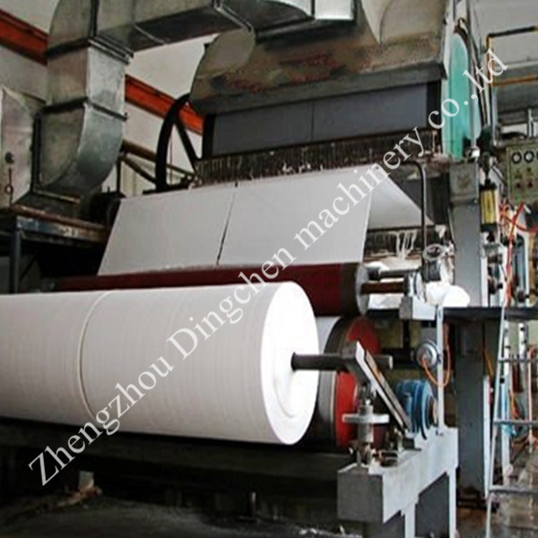 (DC-1575mm) High Quality Paper Recycling Machine & Toilet Paper Production Line