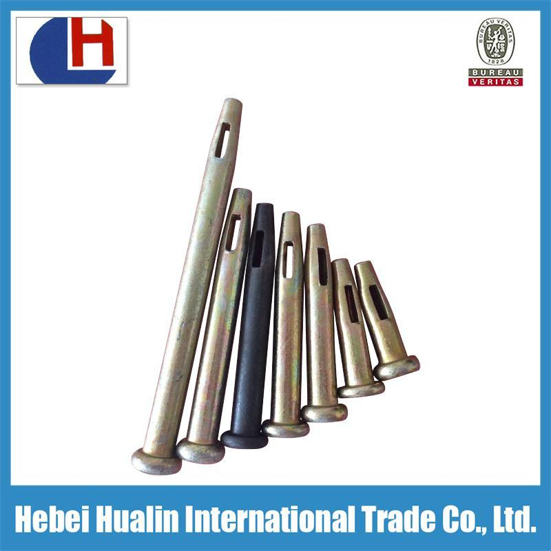 Stub Pin 50mm Aluminum Formwork Accessories Used in Construction aluminum Formwork Assembly