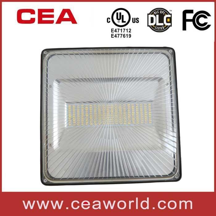 UL cUL Dlc 4.0 FCC Approved LED Canopy Light 30W 50W 70W 100W