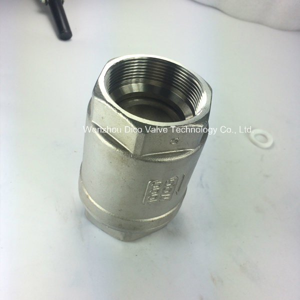 Stainless Steeel Spring One-Way Valve 1000wog (H12W)