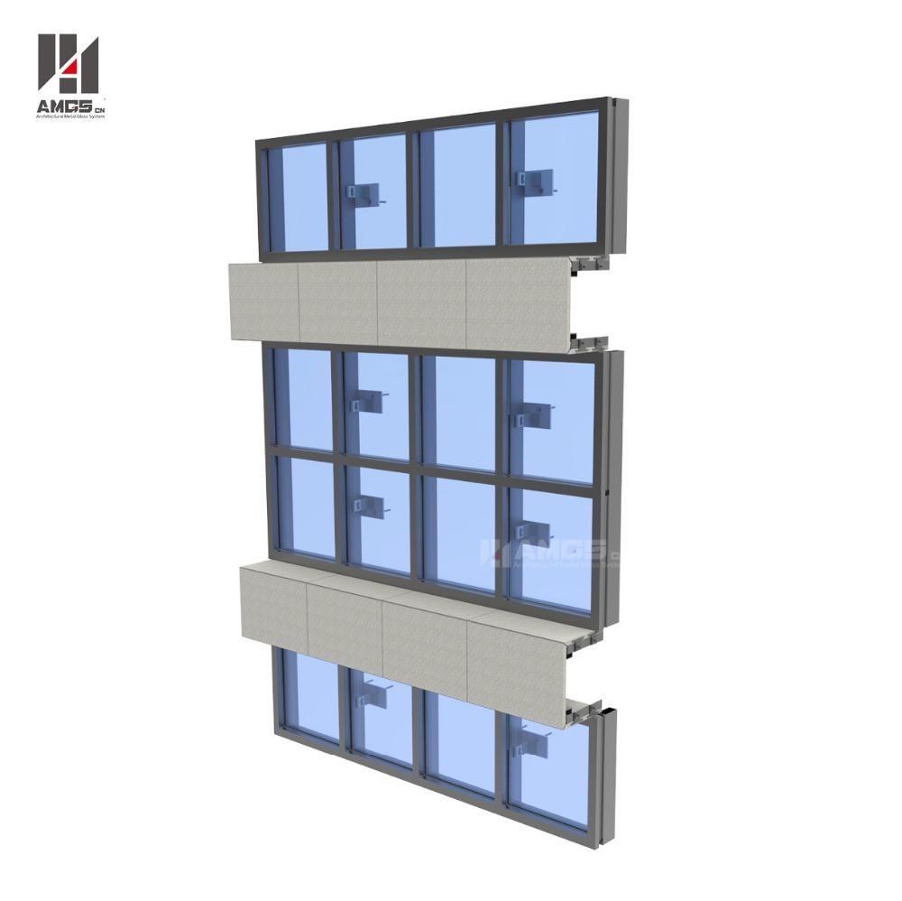 Exterior Facade Aluminum Frameless Glass Curtain Wall Manufacturer