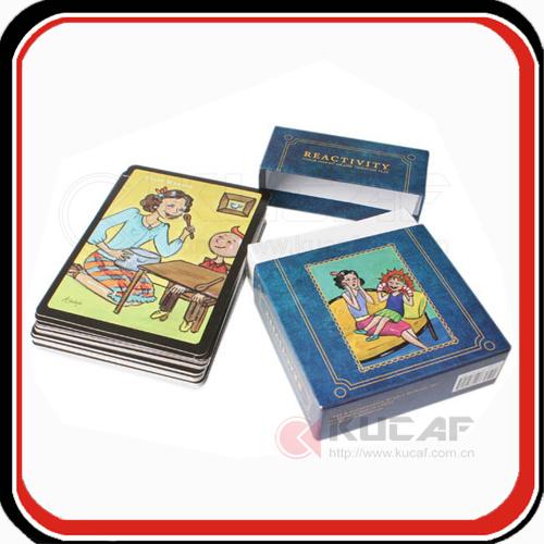 OEM Design Print Custom Education Toy Bingo Game Card