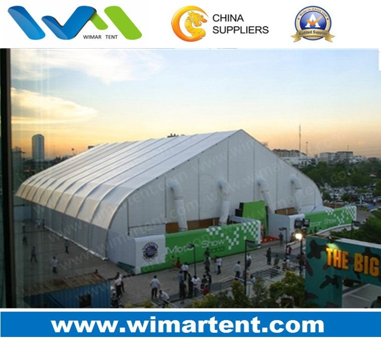 2000 People 30X60m Curved Tent for Big Events Exhibition Trade Show