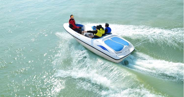 Dohc Engine 115HP Speed Boat