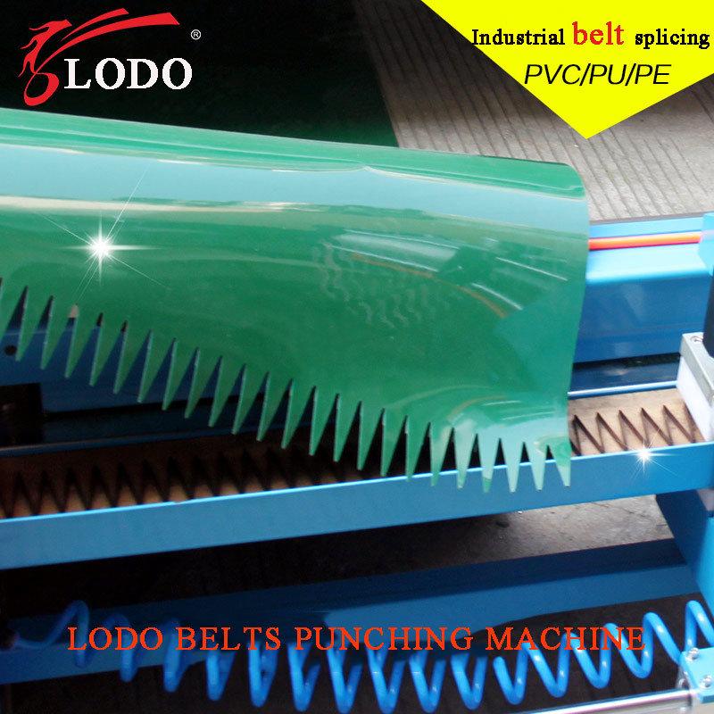 PVC/PU Conveyor Belt Finger Punching Machine
