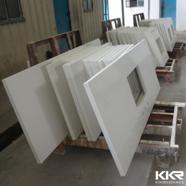 2017 Custom Prefabricated 52′′ Stone Resin Countertop