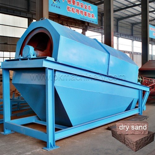 Mining Rock Stone Rotary Trommel Drum Vibrating Screen