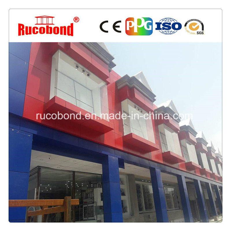 Guangzhou Cladding Wall ACP/Acm Aluminum Composite Panel