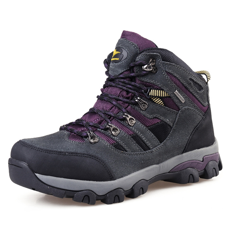 Trekking Shoes Outdoor Mountain Safety Climbing for Men (AK8910)