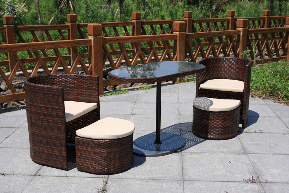 Rattan Outdoor Lounge Furniture for Hotel Lobby and Villa (FS-2185+2186+2187)