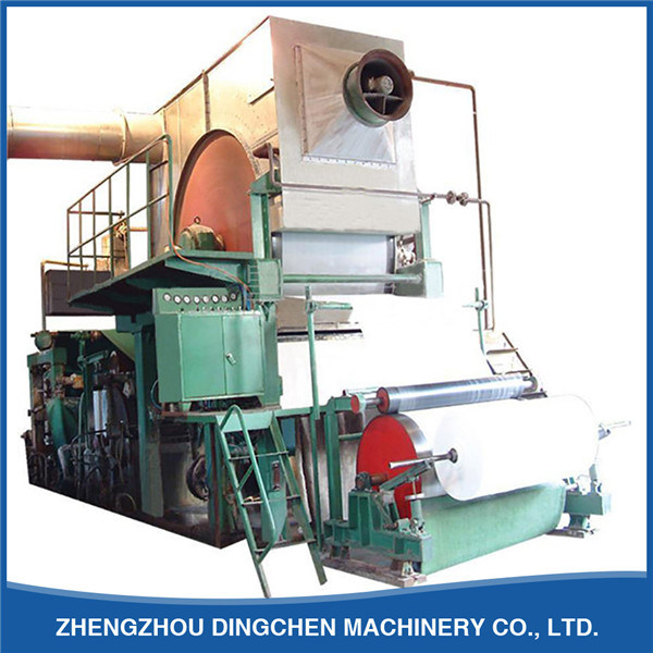 1575mm Single-Dryer& Single-Cylinder Mould Toilet Paper Machine