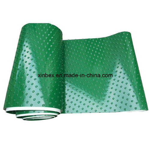 PVC Big DOT Green Conveyor Belt