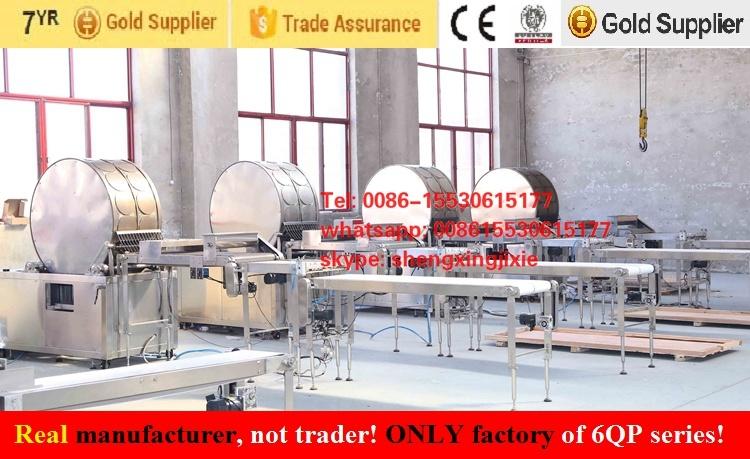Gas/ Ele Pancake Machine/ Thin Pancake Machinery/ Flat Pancake Machine (manufacturer)