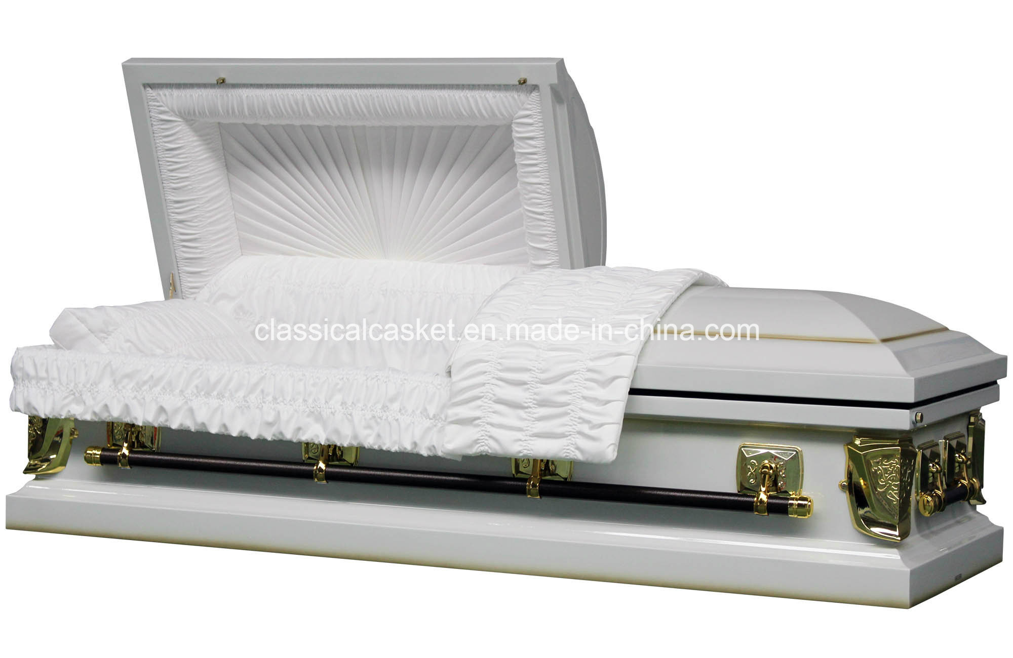 Regal White Purity 20ga Steel Casket