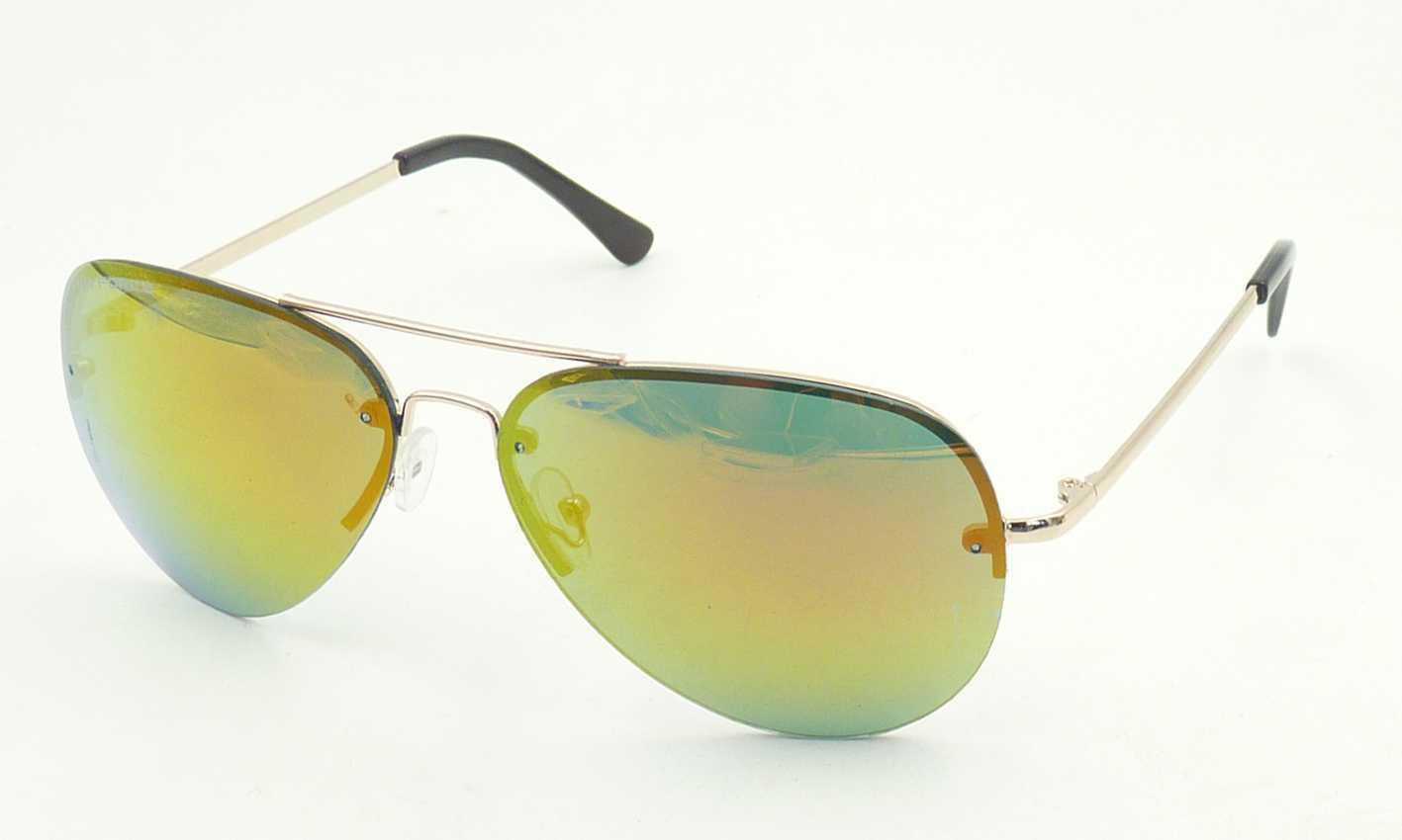 Fqm161126 New Design Good Quality Hotsale Unisex Metal Sunglasses