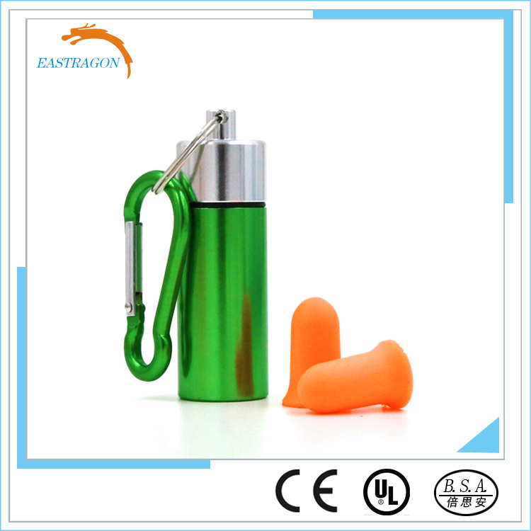 Protective Popular PU Foam Soundproof Earplugs