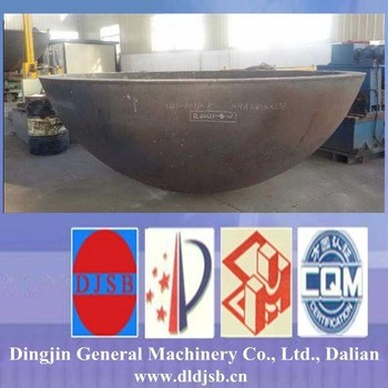 Pressure Vessel Tank Hemispherical Head