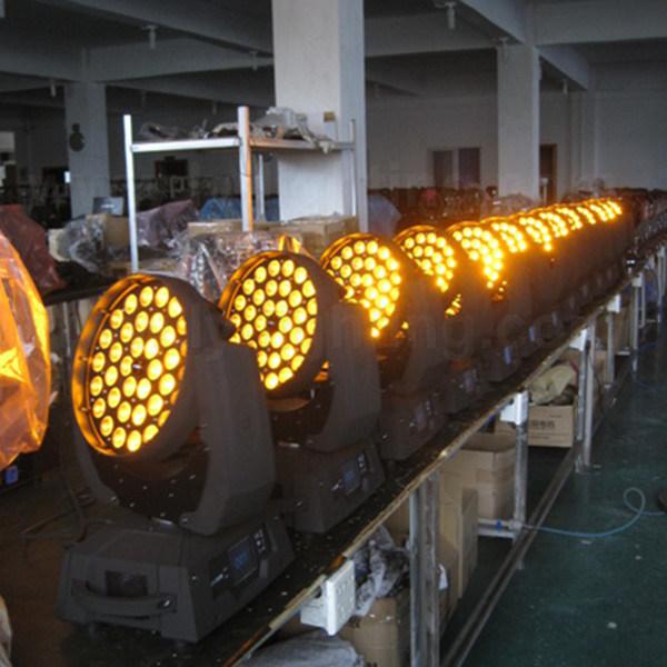 Stage DJ Disco Light 36X18W RGBWA UV 6in1 Beam LED Moving Head