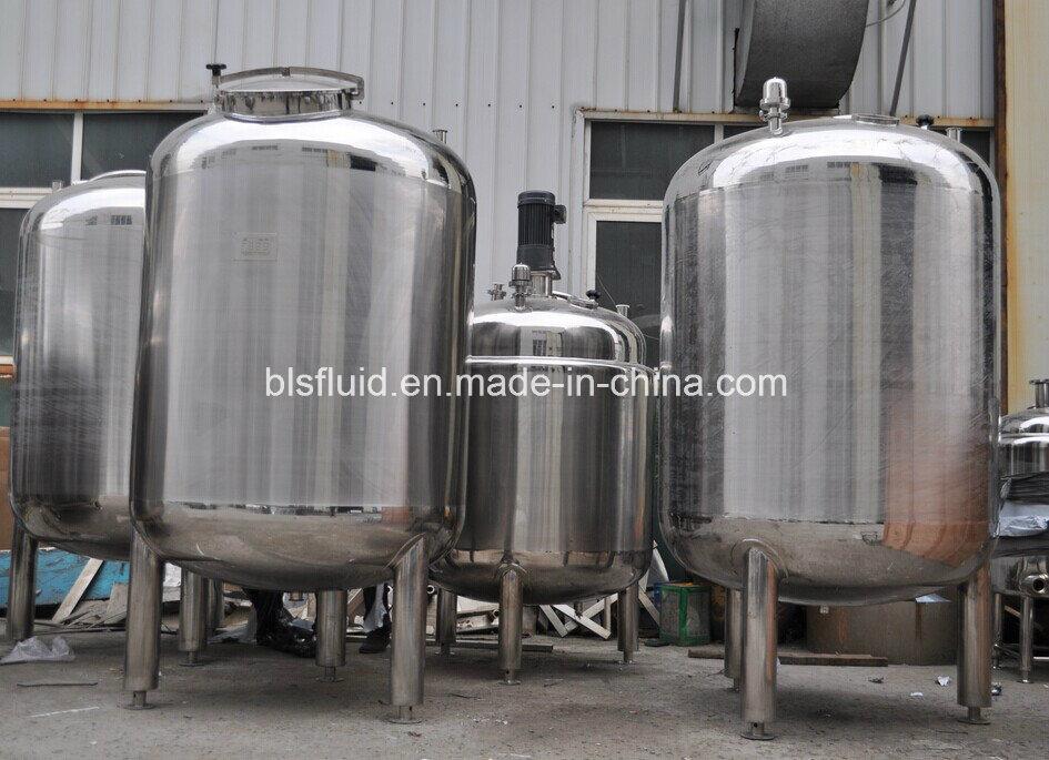 Food Grade Stainless Steel Blending Vessel