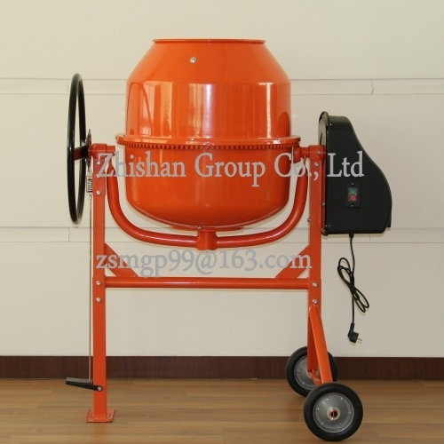 Cm180 (CM50-CM800) Portable Electric Gasoline Diesel Concrete Mixer