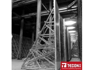 Tecon Retaining Single Side Wall Formwork