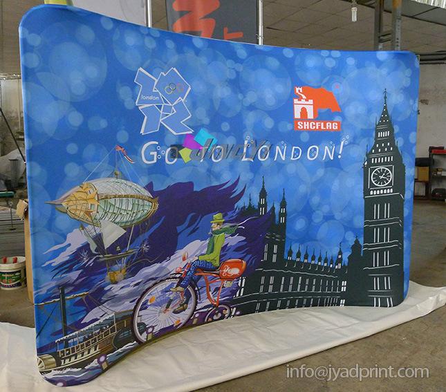 Aluminum Pop up Ez-Tube Tradeshow/Exhibition Backdrop Banner Display