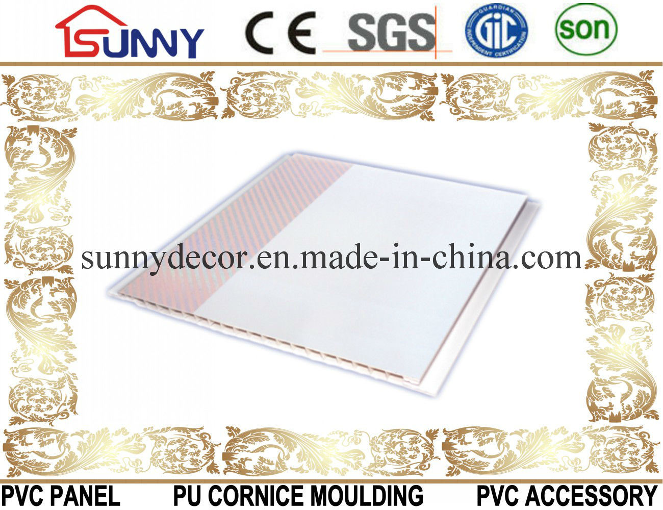 Hot Stamping PVC Panel-PVC Ceiling-PVC Wall Panel for Decoration