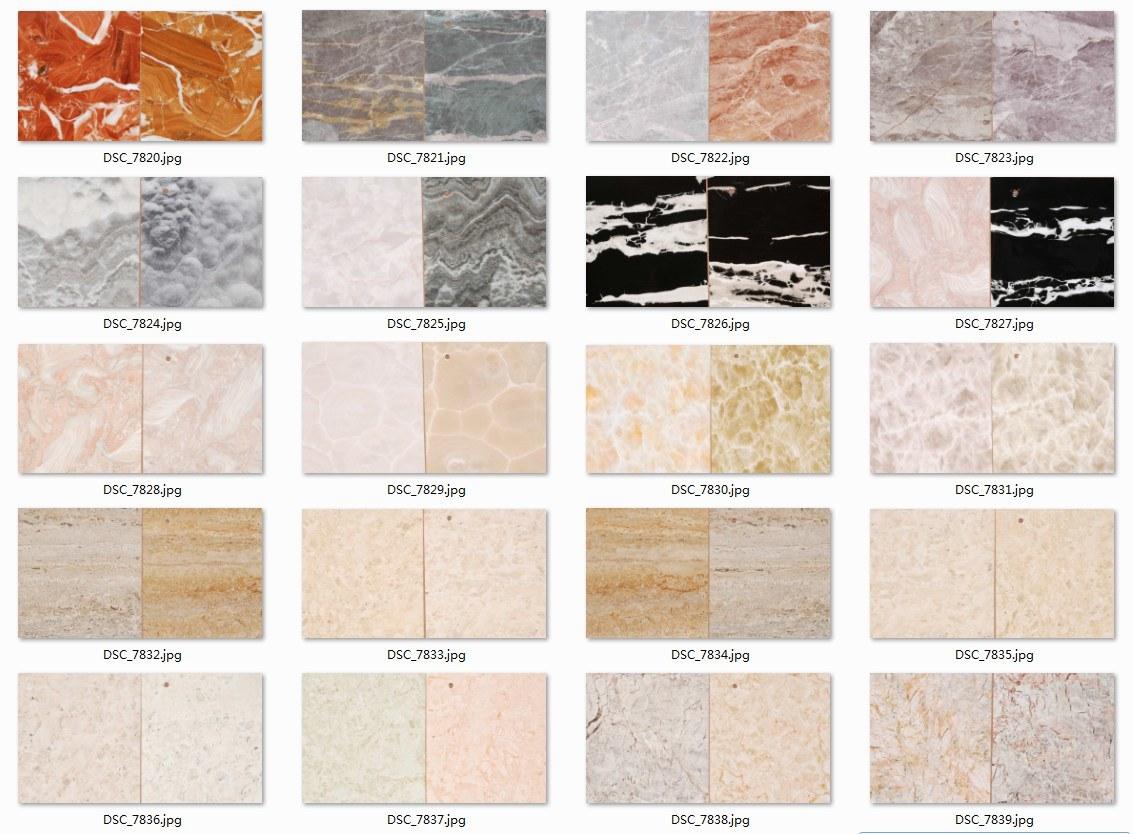 Marble Color Laminate PVC Film/Foil for Furniture/Kitchen/Door
