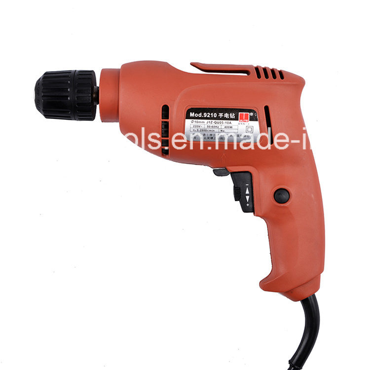 400W High Quality 10mm Electirc Drill 9210u