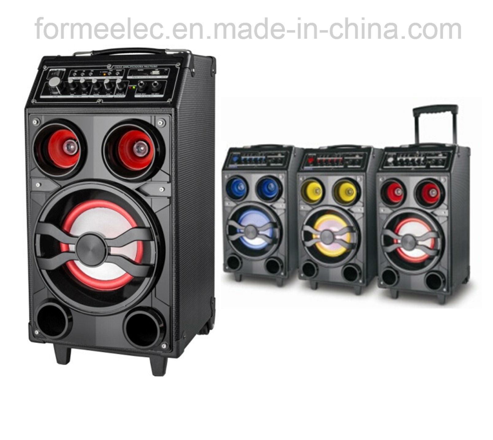 Outdoor Handle Speaker Multi Media Karaoke Subwoofer Trolley Speaker RMS70W