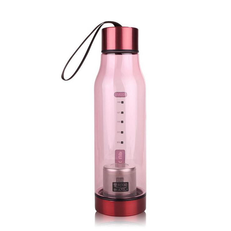 650ml BPA Free Plastic Tea Infuser Sports Water Bottle (1153KV)