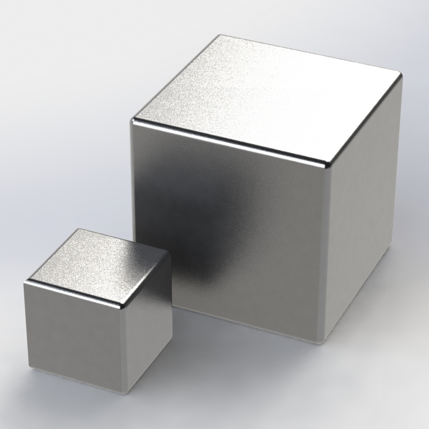 High Performance Powerful Sintered Cube NdFeB Magnet