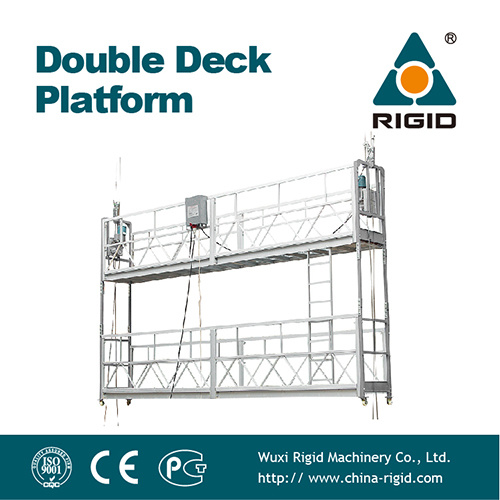 Aluminum Double Suspended Platform / Cradle / Gondola / Suspended Platform (2ZLP800)