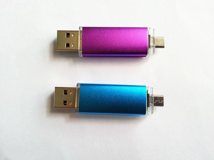 2016 Good Price Smart Cell Phone OTG USB Flash Pen Drive (Hz-LCOTG)