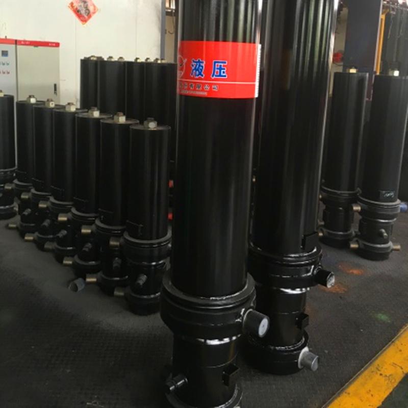 Multistage Telescopic Hyva Hydraulic Cylinder for Dump Truck