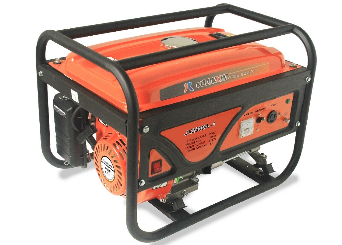 Jx3900A-1 2.8kw High Quality Gasoline Generator with a. C Single Phase, 220V