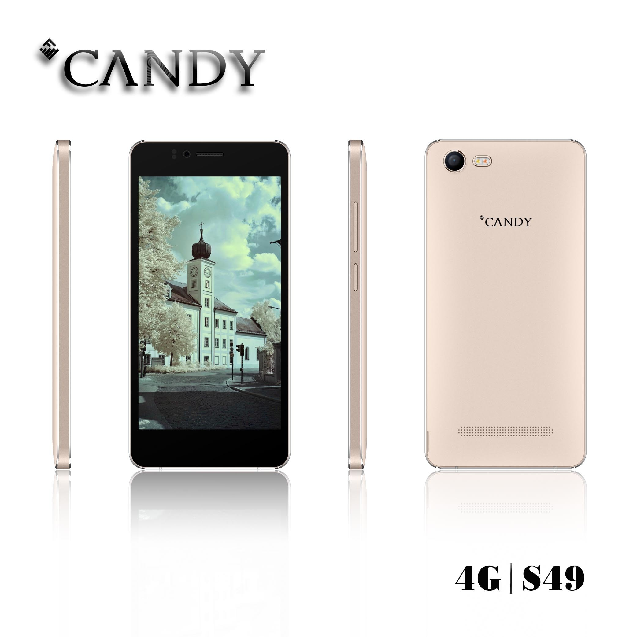 4.5 Inch Fwvga IPS 4G Lte Android6.0 Mobile Phone