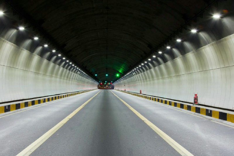 80W IP66 UL Square LED Tunnel Light