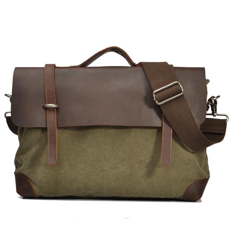 Leather Man Canvas Beach Bag (RS-2167A)