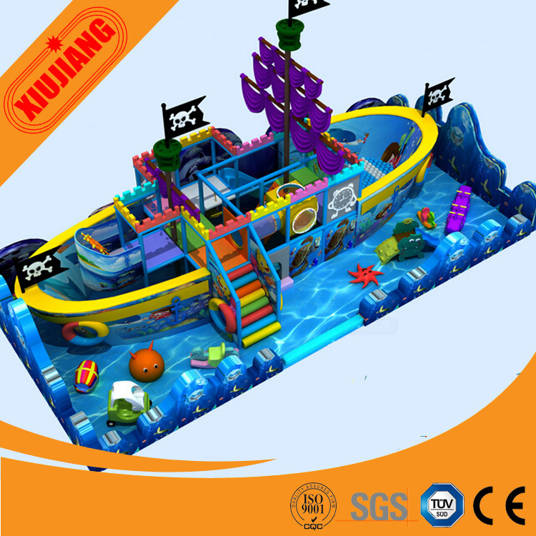China Latest Design Indoor Playground Equipment for Little Kids ...