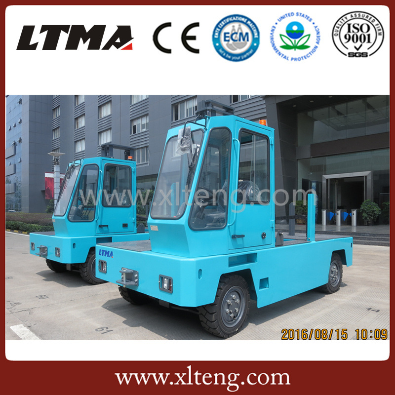 Ltma 3 Ton Electric Side Loader Forklift with 4.8m Height Mast