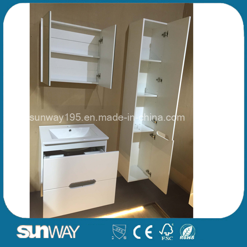 2016 Hot Selling Modern Bathroom Cabinet with Mirror (SW-1507)