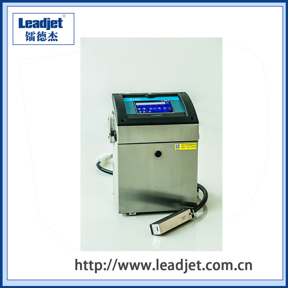 Leadjet V150 Date and Code Cij Industrial Inkjet Printer