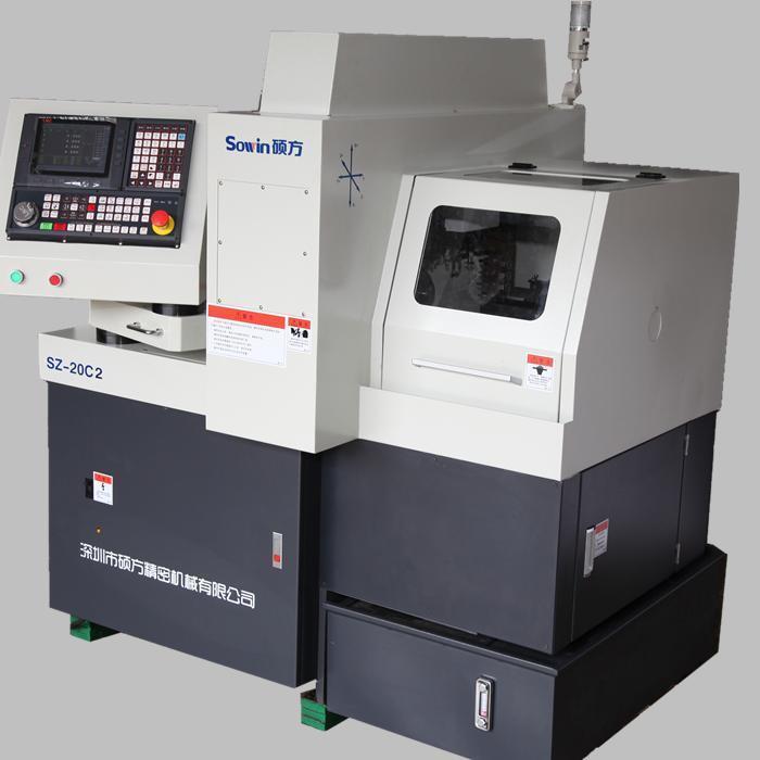 Swiss Type CNC Automatic Lathe Dual Spindles Sz20c2
