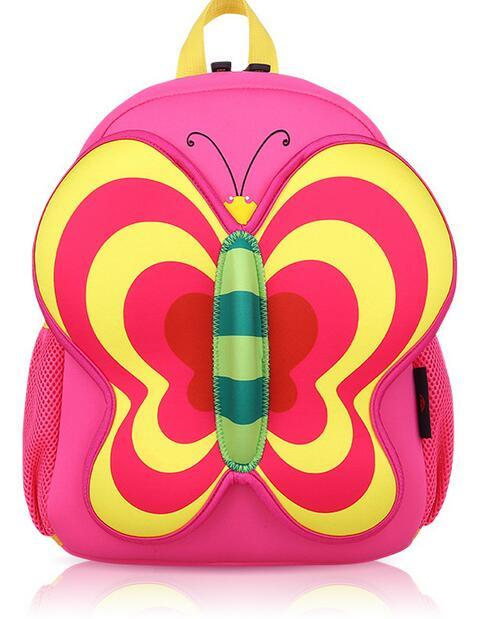 OEM Cute Butterfly Girl′s School Backpack Bags