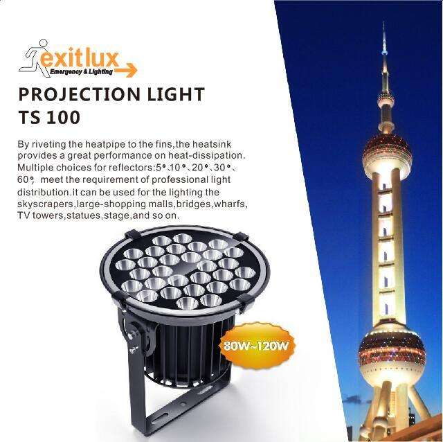 IP65 100W LED Tower Crane Flood Lamp