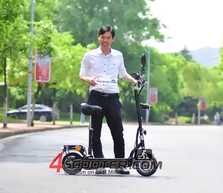 2107 New Lithium Battery Adult 2 Wheel Electric Scooter