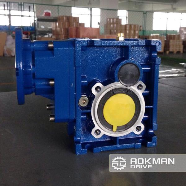 Helical-Hypoid Gearbox, Km Gear Motor