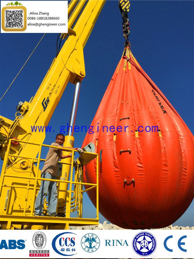 24t@3m &4t@30m Electric Hydraulic Crane Pedestal Crane Marine Crane